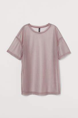 H&M Mesh T-shirt