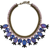 Dannijo Eye and Fish Collar Necklace