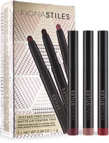 Fiona Stiles Matte Lip Crayon Trio