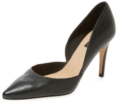 Ava & Aiden 500 Leather D'Orsay Pump