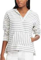 Chaps Women's Striped French Terry Hoodie