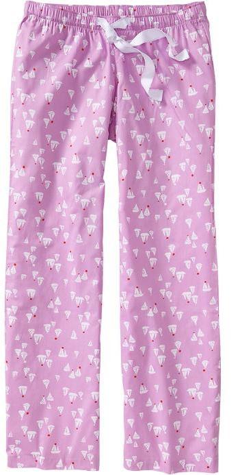 Old Navy Women's Printed Poplin PJ Pants