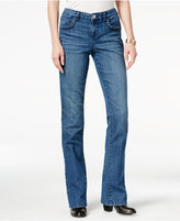 Style&Co. Style & Co. Braided-Trim Bootcut Jeans, Only at Macy's