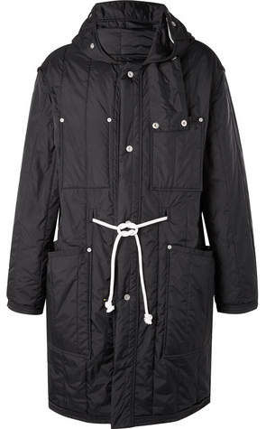 Maison Margiela Quilted Shell Hooded Parka