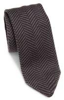 hook + ALBERT Herringbone Silk Tie