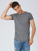 Topman Mid Grey Muscle Fit T-shirt