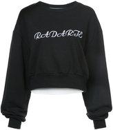 Rodarte branded billowing-sleeve sweatshirt