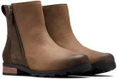 Sorel Emelie Zip Leather Bootie