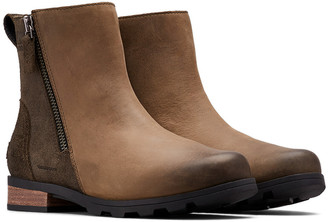 Sorel Emelie Zip Leather Bootie