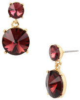 Kenneth Cole New York Faceted Stone Drop Earrings