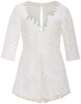 Alice McCall Rumours Lace Playsuit