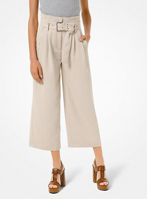 Michael Kors Belted Crepe Trousers