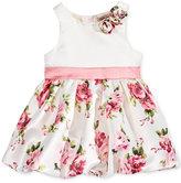 Nanette Lepore Matte Satin Floral Dress, Baby Girls (0-24 months)