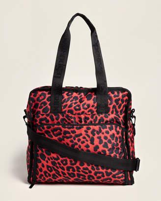Le Sport Sac Ruby Leopard Gabrielle Diaper Bag
