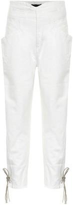 Isabel Marant Nubaia high-rise jeans