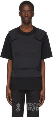 Sankuanz SSENSE Exclusive Black Harness T-Shirt