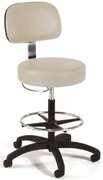 Intensa Drafting Chair Base Finish: Black Composite