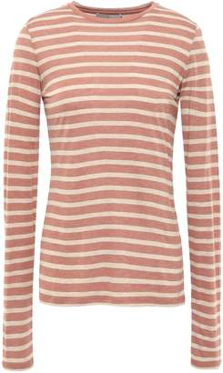 Vince Striped Jersey Top