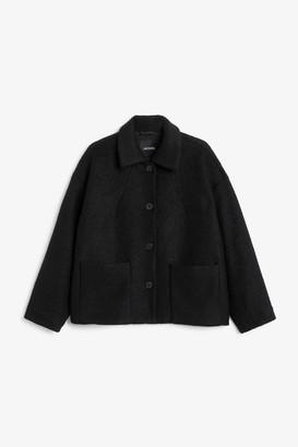 Monki Textured jacket