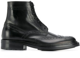 Saint Laurent Brogue Detail Boots