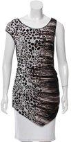 Karen Millen Printed Sleeveless Top