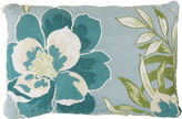 Park B Smith Park B. Smith Coastal Blossom Tapestry Decorative Pillow