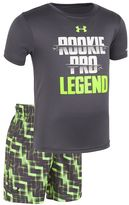 "Under Armour Baby Boy Legend"" Tee & Shorts Set"