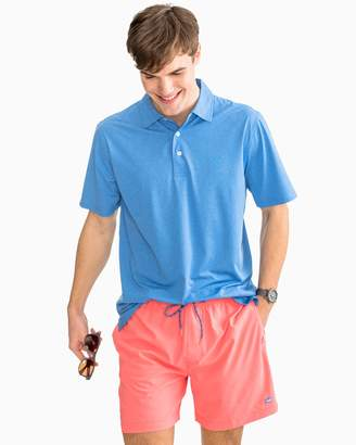 Southern Tide Driver Heathered Performance Polo Shirt