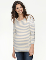 A Pea in the Pod Long Sleeve French Terry Maternity Sweatshirt