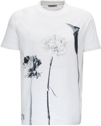 Valentino Floral Print T-Shirt