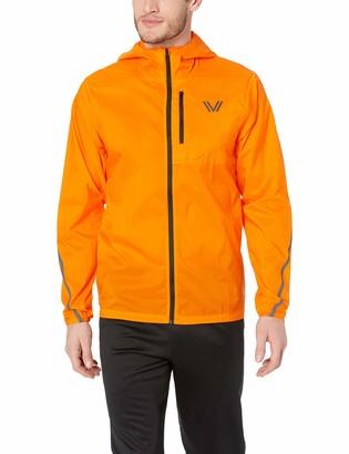 Peak Velocity Men's Emergency Full-Zip Water Resistant Athletic-Fit Jacket