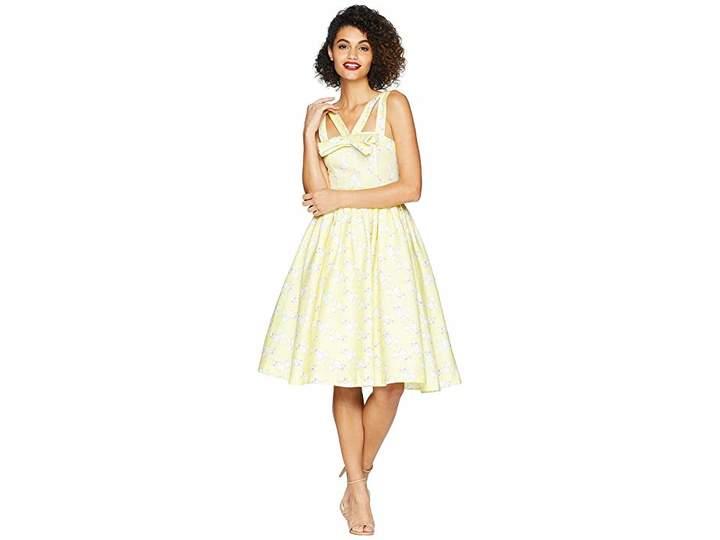 Unique Vintage Beverly Swing Dress