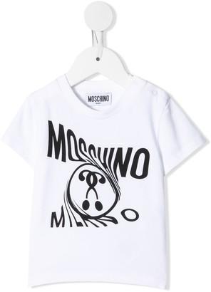 MOSCHINO BAMBINO Logo-Print Two-Piece Set