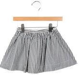 Bonpoint Girls' Striped A-Line Skirt