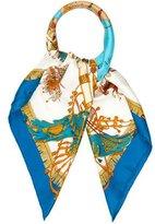 Hermes Caparaçons de la France et de L'Inde Silk Scarf