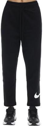 Nike Two Cotton Blend Track Pants