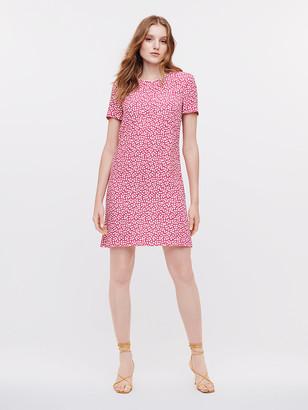 Diane von Furstenberg Carlotta Crepe Mini Dress