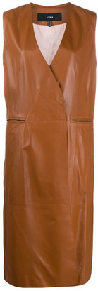 Arma Leather Waistcoat