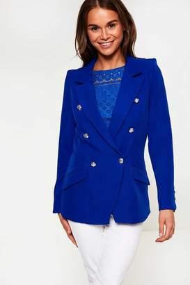 Iclothing iClothing Tess Military Blazer in Blue