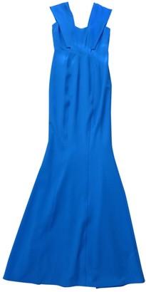 Zac Posen Blue Polyester Dresses