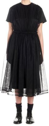 Comme des Garcons X Noir Kei Ninomiya Gathered Layered Dress