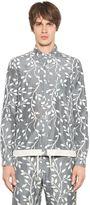 08sircus Silk Blend Canvas & Knit Shirt