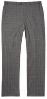 Brooks Brothers Wool Plaid Flat Front Trousers