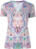 Etro printed T-shirt - women - Cotton - 42
