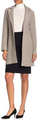 Bagatelle Tweed Notch Collar Blazer