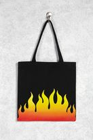 Forever 21 Flame Graphic Tote