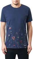 Pretty Green Hilldrop Slim Fit Graphic T-shirt