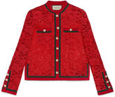 Gucci Lace jacket with Web