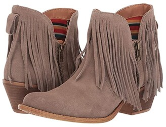 Dingo Jerico (Taupe Suede) Women's Boots