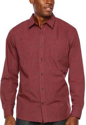 Dickies Relaxed Fit Icon Long Sleeve Rinsed Plaid Shirt